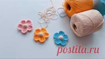 精致蕾丝花,阿富汗针法!可以做成发夹,胸针等各类配饰