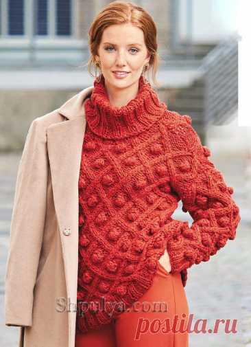 10 идей для женских вязаных свитеров | Факультет рукоделия | Яндекс Дзен
