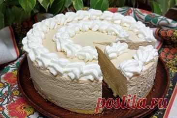 Творожно-банановый тортик по мотивам английского баноффи – рецепт с фото