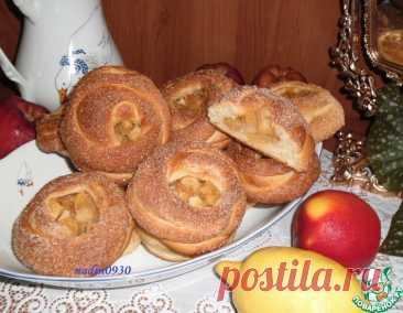 Ватрушки сдобные с яблоками – кулинарный рецепт