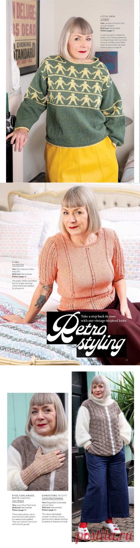 Неудачная модель из последнего номера The Knitting. А в целом, джемперы понравились! | Asha. Вязание и дизайн.🌶 | Яндекс Дзен