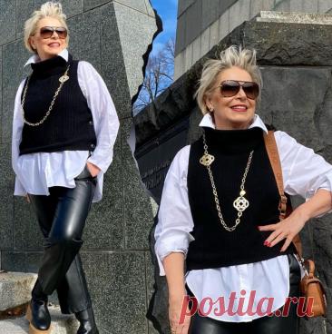 Мало купить одежду, нужно правильно её сочетать. Образы для женщин 50+, в которых всё стильно | Glamiss | Яндекс Дзен
