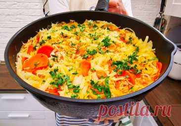 Рецепт очень вкусного греческого блюда «Лаханоризо», получается сытно и готовится за 30 минут   Рекомендательная система Пульс Mail.ru
