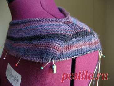 Имитация втачного рукава - вязание без швов | Вязание спицами и крючком | Яндекс Дзен