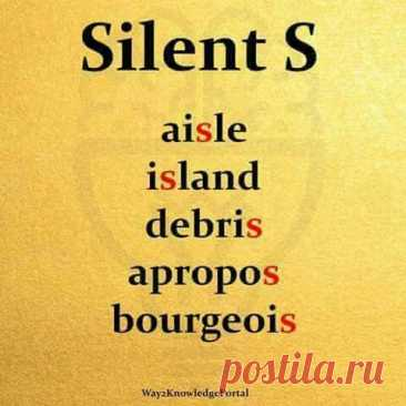 Silent S
