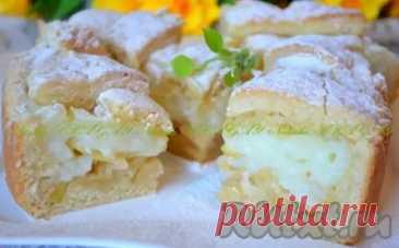 (4) Рецепт пирога с заварным кремом - Домашняя выпечка - медиаплатформа МирТесен