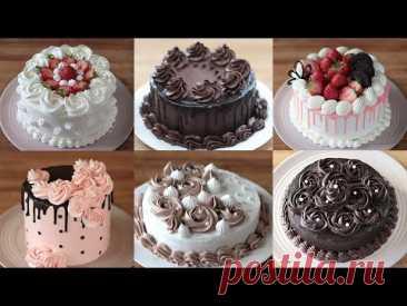 УДИВИТЕЛЬНЫЙ сборник элегантных домашних украшений для тортов | Идеи украшения торта