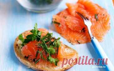 Рецепт недели - Быстрый, простой и вкусный посол рыбы | ГОРНИЦА