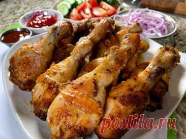 Куриные ножки в духовке и шашлык больше не нужен. Вот, как нужно готовить курицу! | Рецепты в гостях у Вани | Яндекс Дзен