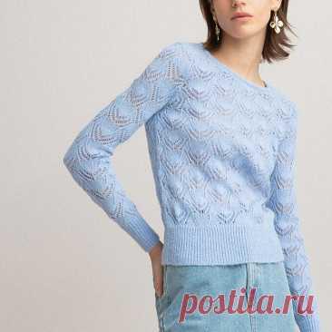 Ажурный пуловер Laredoute