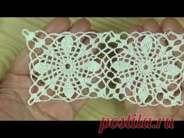 Openwork square suitable for both a tablecloth and a blouse Ажурный квадрат для скатерти