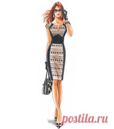 Скачать выкройку Платье Размеры 34-56 евро в PDF бесплатно Выкройка Платье Размеры 34-56 евро в ПДФ, скачайте пошаговую инструкцию бесплатно, сшить Платье Размеры 34-56 евро своими руками.