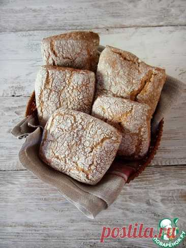 Ржаные хлебные плиточки со специями – кулинарный рецепт