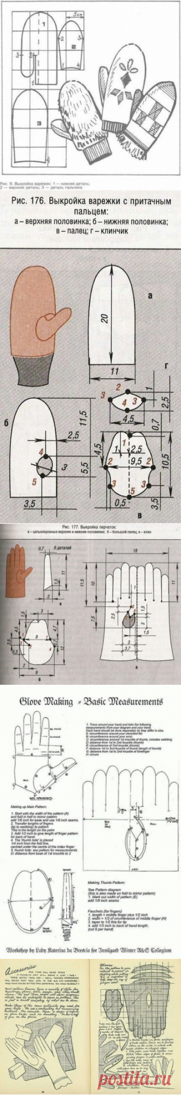 The tailor • Sewing, alterations - is easy! Mittens and gloves