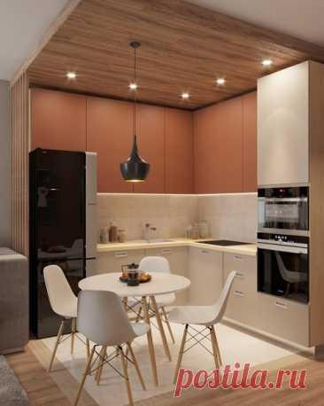 Две кухни для сравнения! Угловые в кухни в студиях
