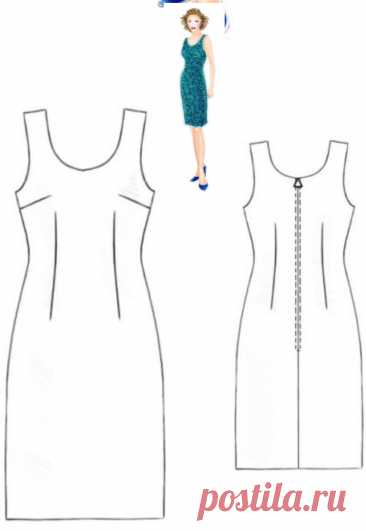 Выкройка платья просто и без хлопот. Актуально в лоскутном шитье и вязании | Записки рукодельницы | Яндекс Дзен