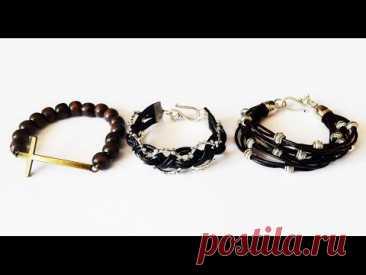 Las pulseras de hombre por las manos el maestro la clase men's bracelet diy