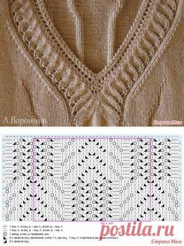 Как необычно оформить горловину вязаного изделия.   Вяжу для души   Яндекс Дзен