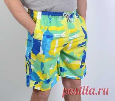 Шьём мужские летние шорты (Шитье и крой) – Журнал Вдохновение Рукодельницы