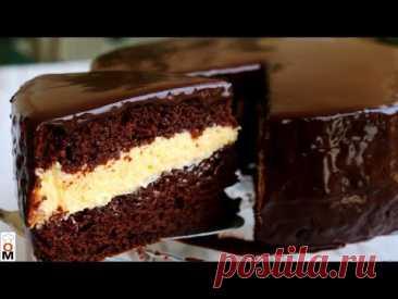 НЕРЕАЛЬНО ВКУСНЫЙ ТОРТ  🍰 «Эскимо»   Chocolate Cake Recipe