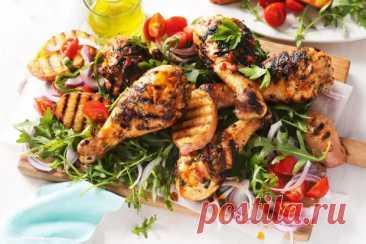 Куриные голени, салат с кунжутом и рисом: отличный вариант обеда или ужина в дорогу - Odnaminyta - медиаплатформа МирТесен