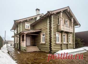 Современный деревенский дом. У кого-то сбылась мечта!