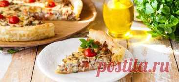 Итальянский пирог с фаршем и помидорами - Образованная Сова