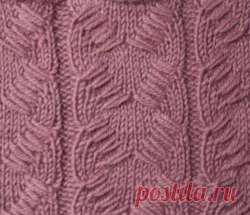 Подборка очень красивых узоров спицами. Узоры спицами, схемы. | Вязание спицами. Рукоделие. | Яндекс Дзен