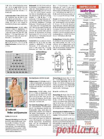 Обзор моделей журнала Сабрина за август.   Asha. Вязание и дизайн.🌶   Яндекс Дзен