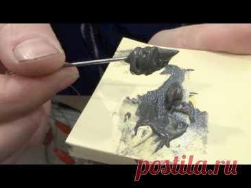Качественная паяльная паста своими руками (subtitles available)