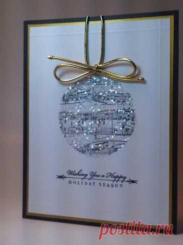 Идеи новогодних открыток | Ideas Christmas cards