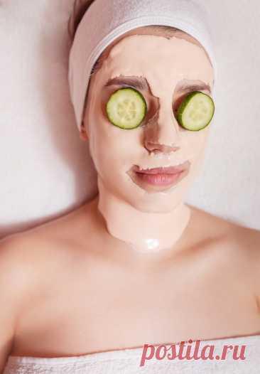 Как и для чего делать огуречную маску   Делимся советами