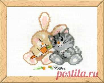 Любовь-морковь (арт.НВ103 Риолис) купить в Stitch и Крестик