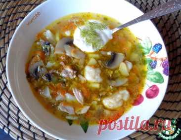 Суп грибной с цветной капустой – кулинарный рецепт