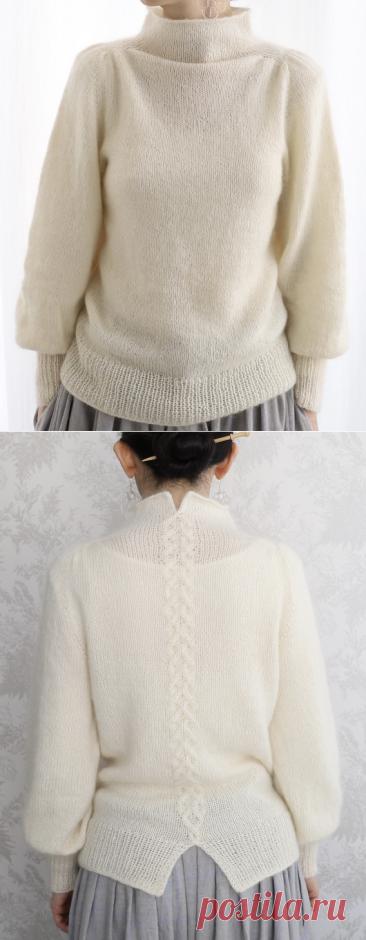 Вязаный свитер Ito-Yuu   ДОМОСЕДКА