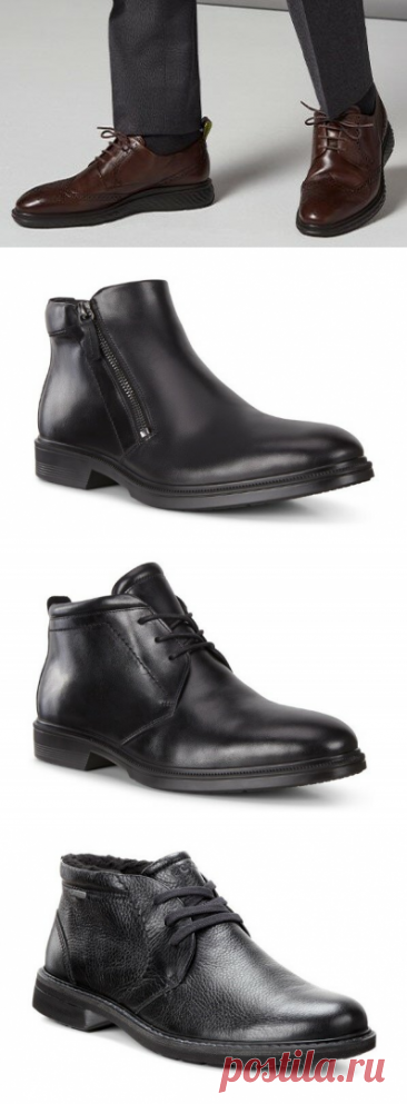 Теплые мужские ботинки на зиму 2020-2021. Кожа, классика, комфорт  Классическая гладкая кожа отличается высокой прочностью и хорошими водоотталкивающими свойствами. Конечно, это существенно упрощает уход за обувью и позволяет мужчинам выглядеть превосходно на протяжении … Читай дальше на сайте. Жми подробнее ➡