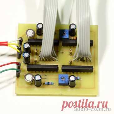 Десяти-сегментный стерео индикатор уровня сигнала на AN6884 Приветствую всех зашедших! Конструкции светодиодных индикаторов уровня сигнала могут служить не только для декоративного оформления передней панели, например, какого-нибудь усилителя, но и выполнять полезную задачу - предупреждать о чрезмерно высоком уровне сигнала при записи, например, в линейный