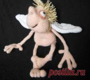 Замечтательный ангел - МК по вязанию игрушек - Форум почитателей амигуруми (вязаной игрушки)