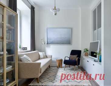 Houzz тур: Маленькая квартира цвета бумаги   Houzz Россия