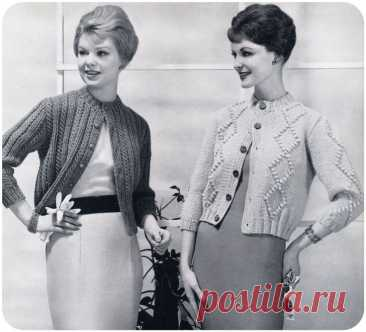 Вязаная мода прошлого столетия: какой она была в период с 1950-59 гг.   Вяжем вместе!   Пульс Mail.ru Одежда середины прошлого столетия отличалась элегантностью, утонченностью и изяществом. Каждый элемент женского гардероба выгодно подчеркивал...