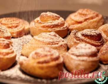 """Творожное печенье """"Чайные розочки"""" – кулинарный рецепт"""