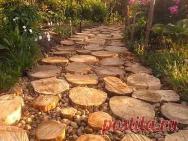 10 идей дизайна садовых дорожек, способных стать украшением участка