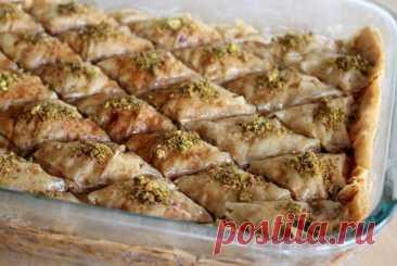 Пахлава с фисташками рецепт – русская кухня: выпечка и десерты. «Еда»