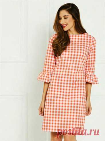 Платье Размеры 36-46 eur #выкройки #выкройкиженские #платье