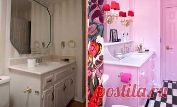 Тусклая и скучная ванная получила необычное и смелое перевоплощение. Фото до/после. Ремонт ванной комнаты может казаться сложным, так как зачастую требуется заменять сантехнику, не говоря уже о стенах, которые обычно нуждаются в ремонте. Часто люди оттягивают … Читай дальше на сайте. Жми подробнее ➡