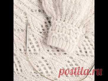 КРАСИВАЯ РЕЗИНКА И МАНЖЕТ.УЗОР ДЛЯ РЕЗИНКИ. описание вязания. узор спицами. kniting