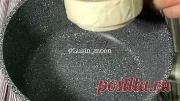 Los hojaldres con la crema albuminada