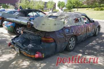 Чемпионат мира по смешному тюнингу авто | Иван Фастманов | Яндекс Дзен
