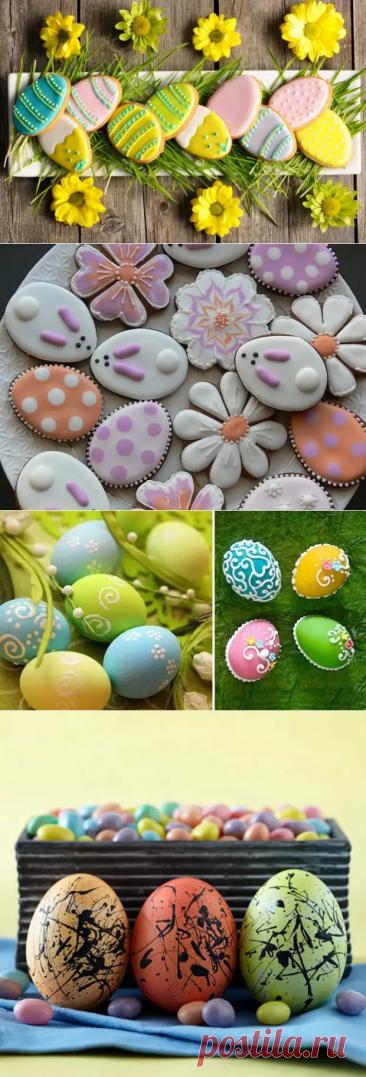 Пасхальный декор: украшаем пасху, яйца и печенье - Журнал ЕЩЁ - медиаплатформа МирТесен