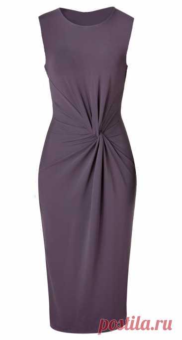 Моделирование платья с Х-драпировкой по мотивам платья от Michael Kors  Для пошива такого платья нам понадобится около 1.30 м трикотажа при ширине 1.50 м. Длина моего готового платья получилась 95см.Если Вам нужно платье по длиннее ,возьмите чуть больше ткани.   Берем вы…
